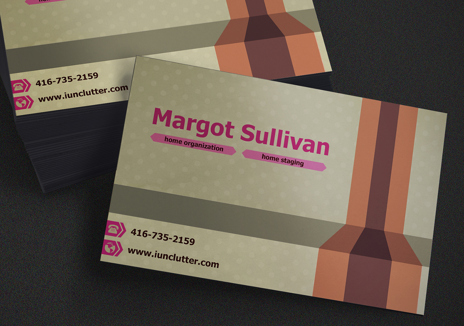 Professional elegant business business card design for a company business card design by esmael43 for this project design 7615297 colourmoves