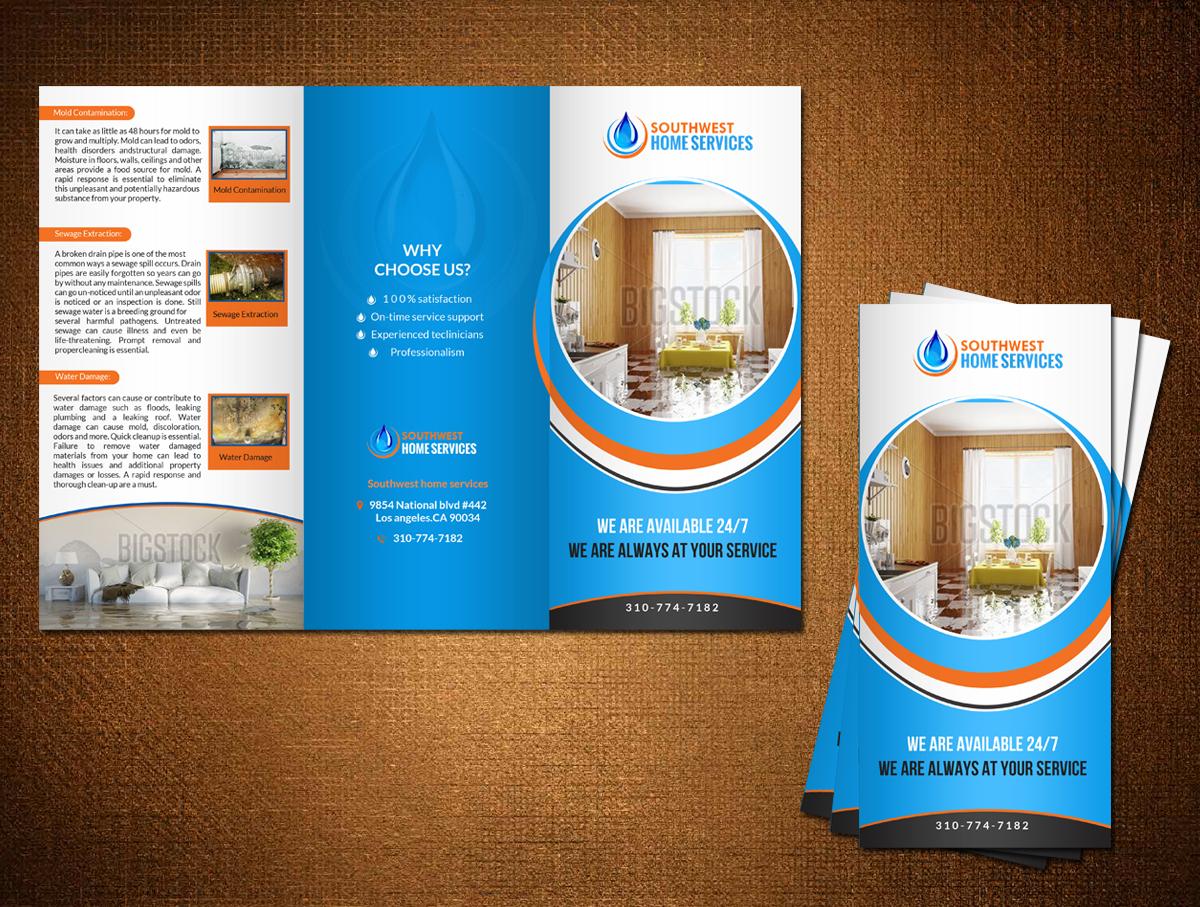 Masculine, Bold, Business Brochure Design for Southwest