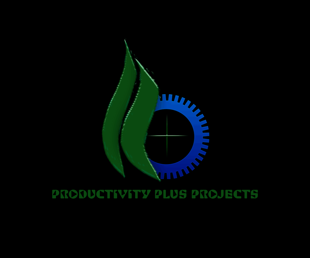 Industry Logo Design For Productivity Plus Projects By Jahcreation