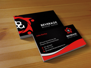 Business Card Design 7647999 Submitted To Liquor And Wine Broker Ing
