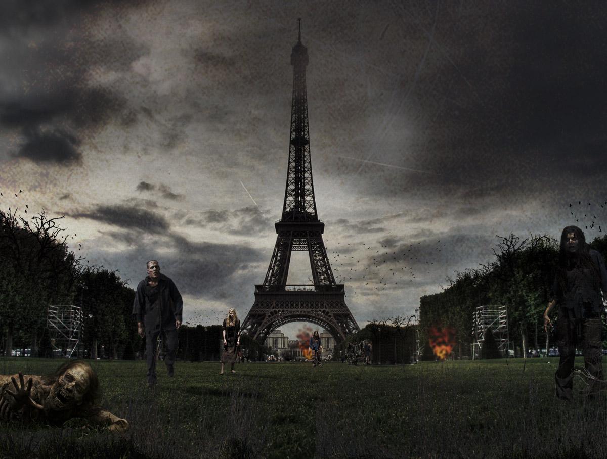 Le Monument Emblématique Français Revisité Pour Le Jour de La Tour Eiffel