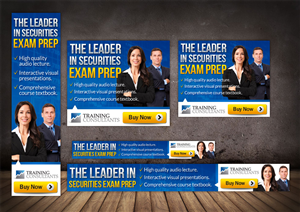 Banner Ad Design by Mary Kaiser - Securities Exam Training Banner Add for AdWords...
