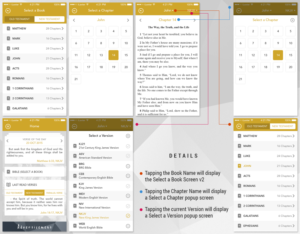 App Design By Ilexter App User Interface Design For Bible App