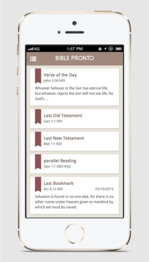 App User Interface Design for Bible App | 16 App Designs for