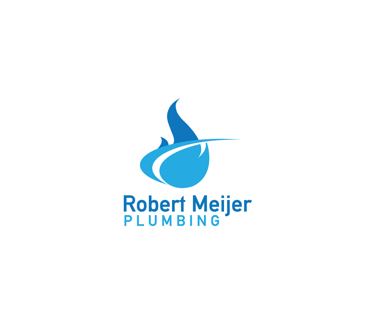 Business logo design for robert meijer plumbing contact for Logo creation wizard