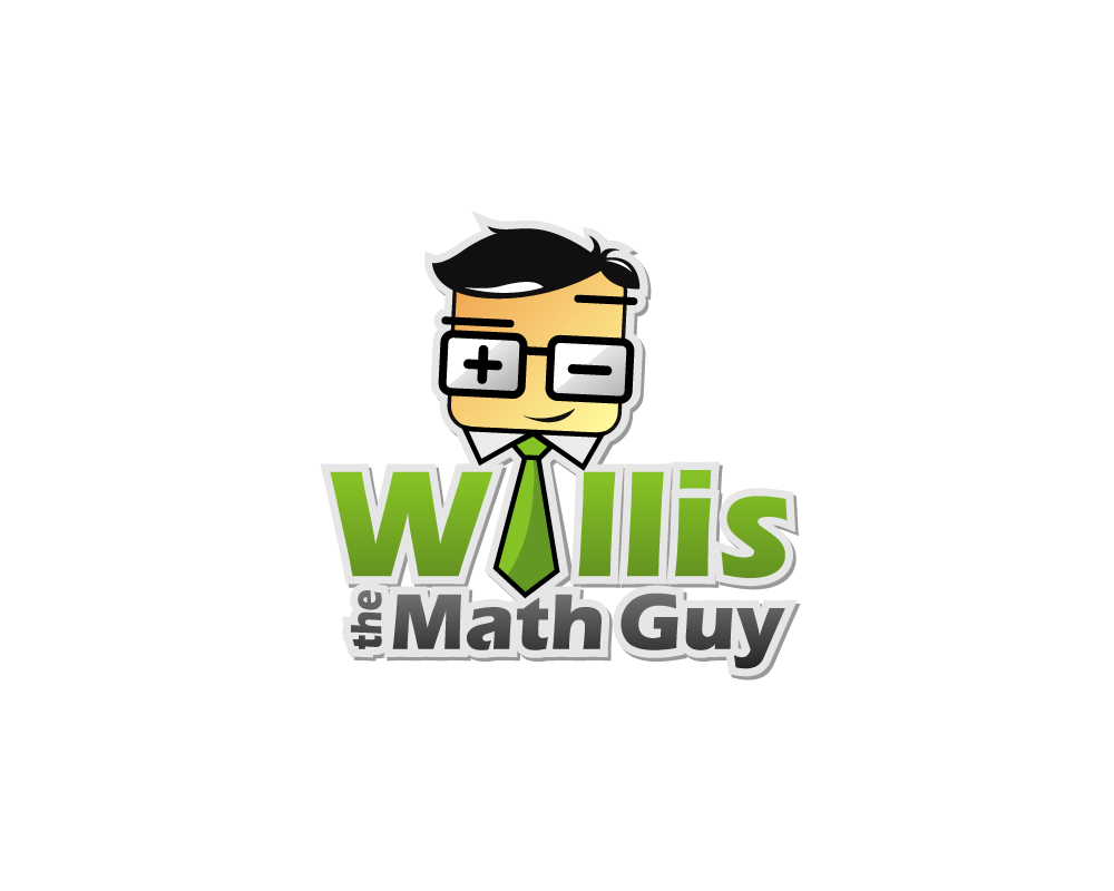 elegant  playful  business logo design for willis the math