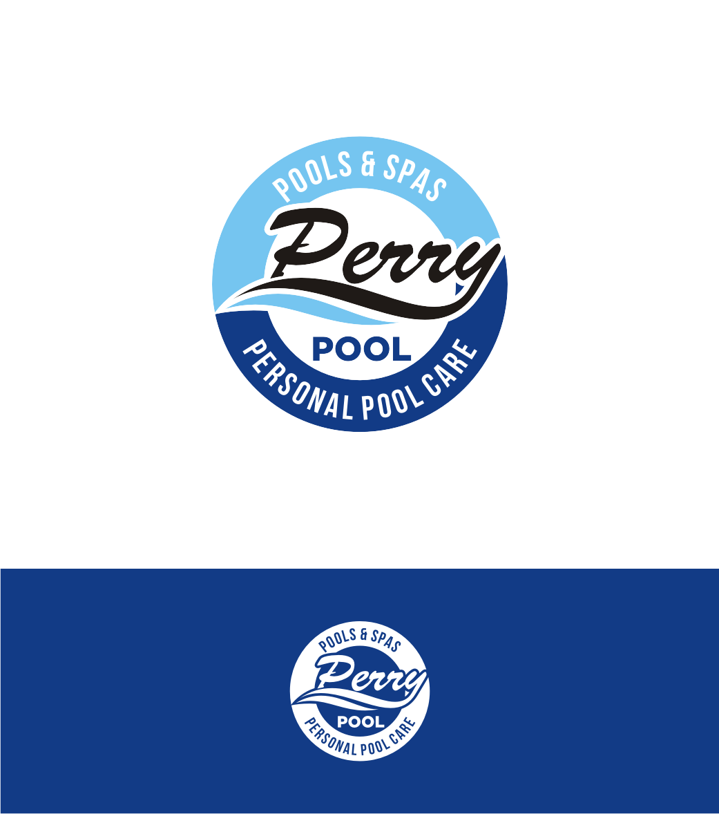 63 serious masculine pool service logo designs for perry for Pool design company