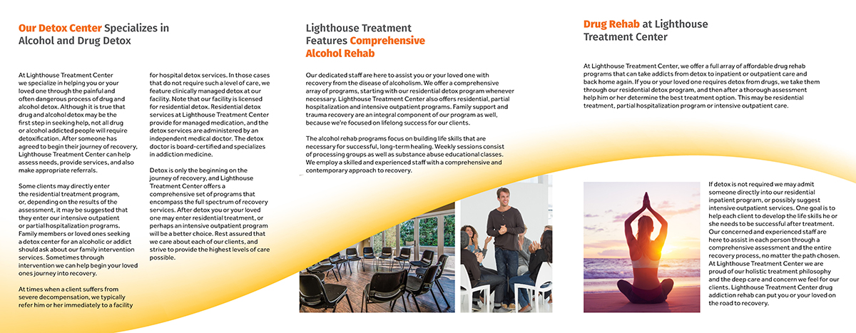 Modern Professional Health And Wellness Brochure Design For A