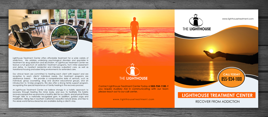 Modern Professional Health And Wellness Brochure Designs For A