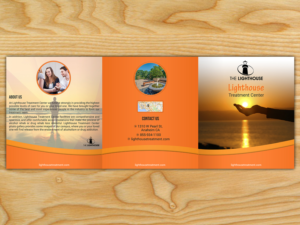 Brochure Design for Lighthouse Treatment Brochure for a drug and ...