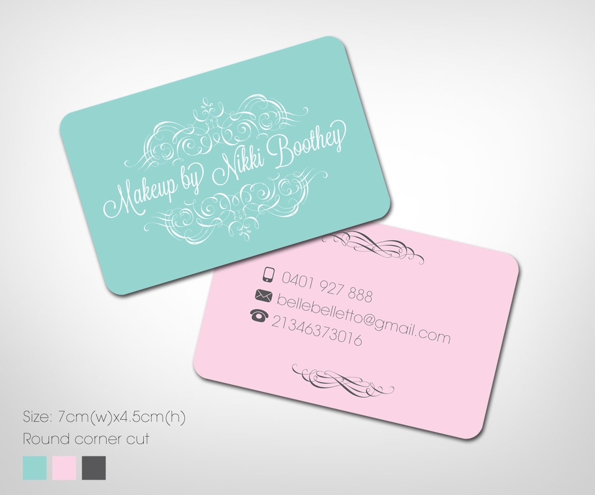 Modern feminine business business card design for a company by business card design by khoo for this project design 1898803 reheart Choice Image