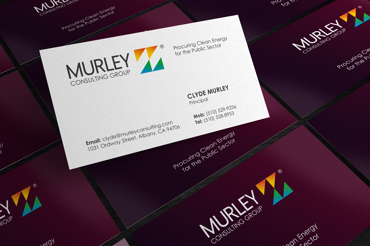 Design De Carte Visite Par Logodentity Pour Murley Consulting Group