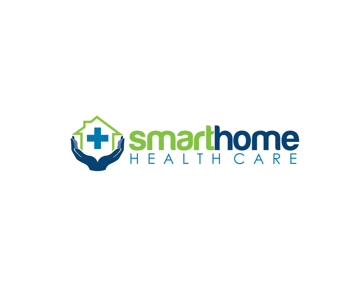 Modern Upmarket Logo Design For Smart Home Health Care By Creativepowertouch