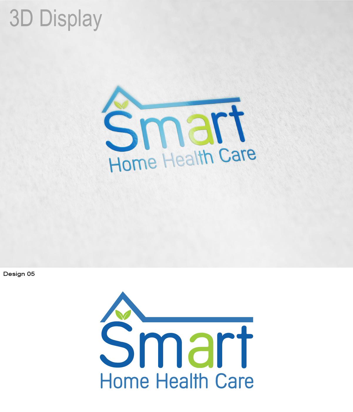 Logo Design By BlacknWhite For Smart Home Health Care Business Needs  International Logo   Design #