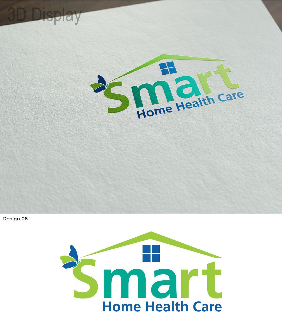 Modern Upmarket Business Logo Design For Smart Home Health Care By Blacknwhite Design 7716905
