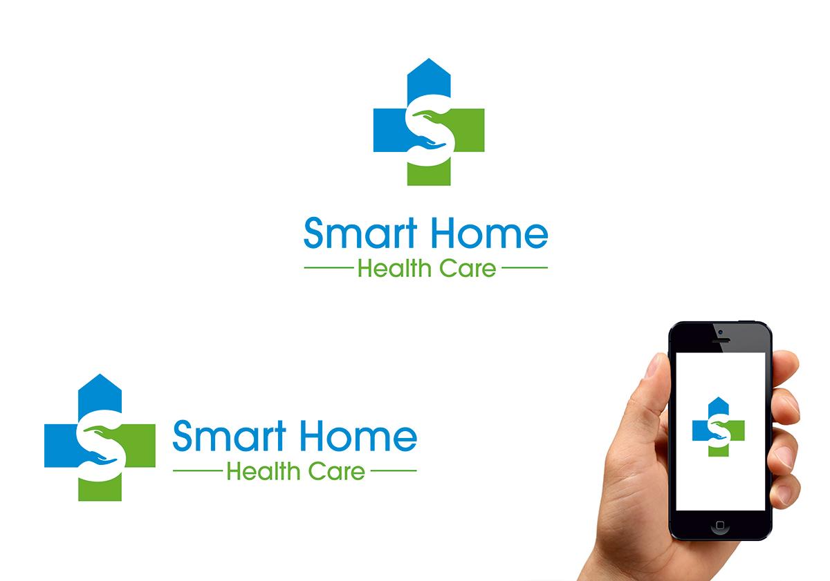 create health medical logo online using the best logo - Home Health Logo Design