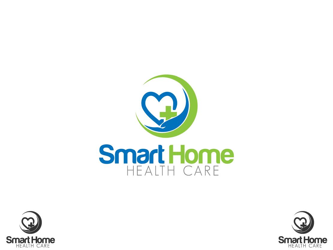 Moderne Haut De Gamme Business Design De Logo For Smart Home Health Care By Atriumdezigns