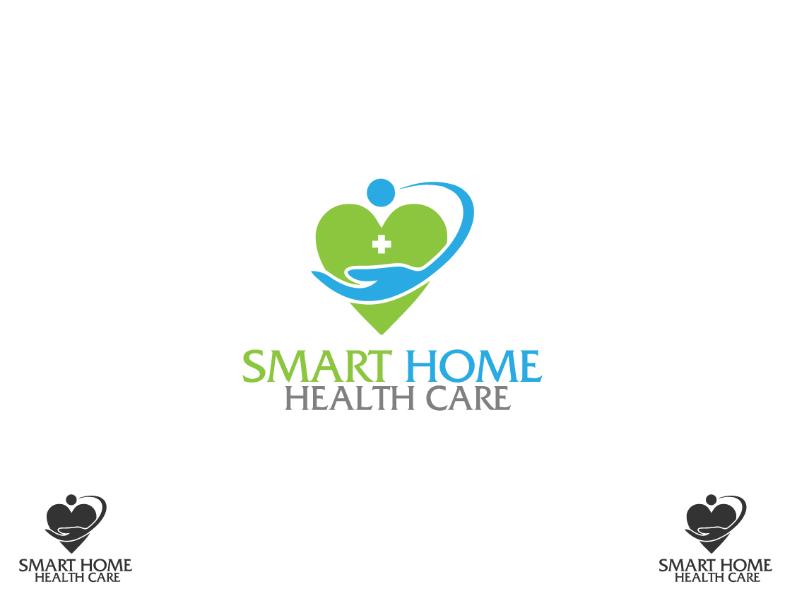 Modern Upmarket Logo Design For Smart Home Health Care By Atriumdezigns Design 7717970