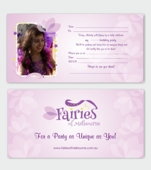 Birthday invitation design arabic text 1000s of birthday invitation design for fairies of melbourne by inesero stopboris Choice Image
