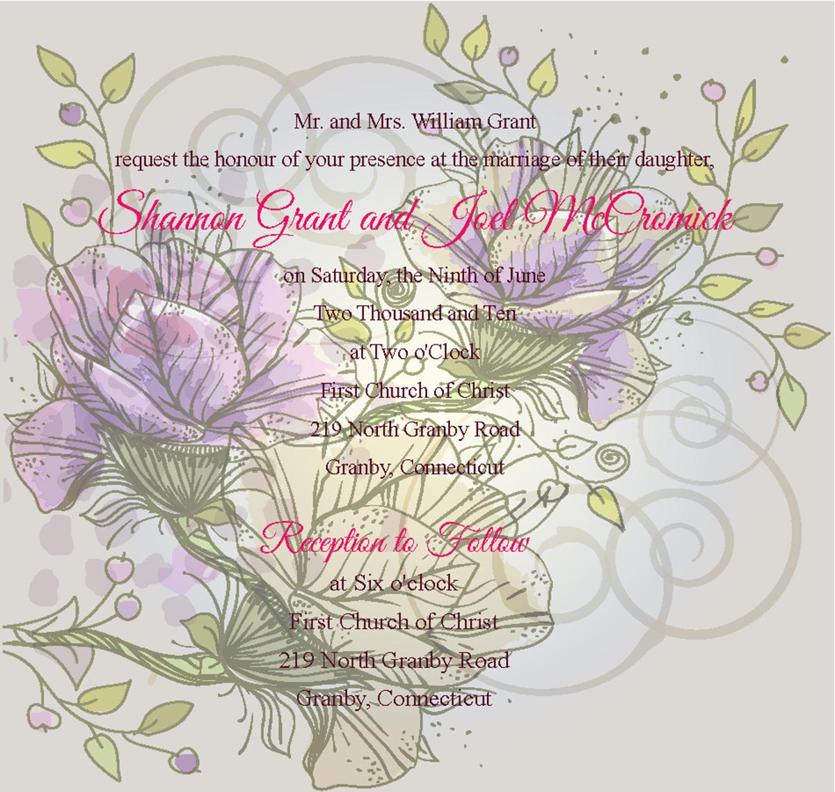 wedding invitation design for the ribbon company by With the wedding invitation design company