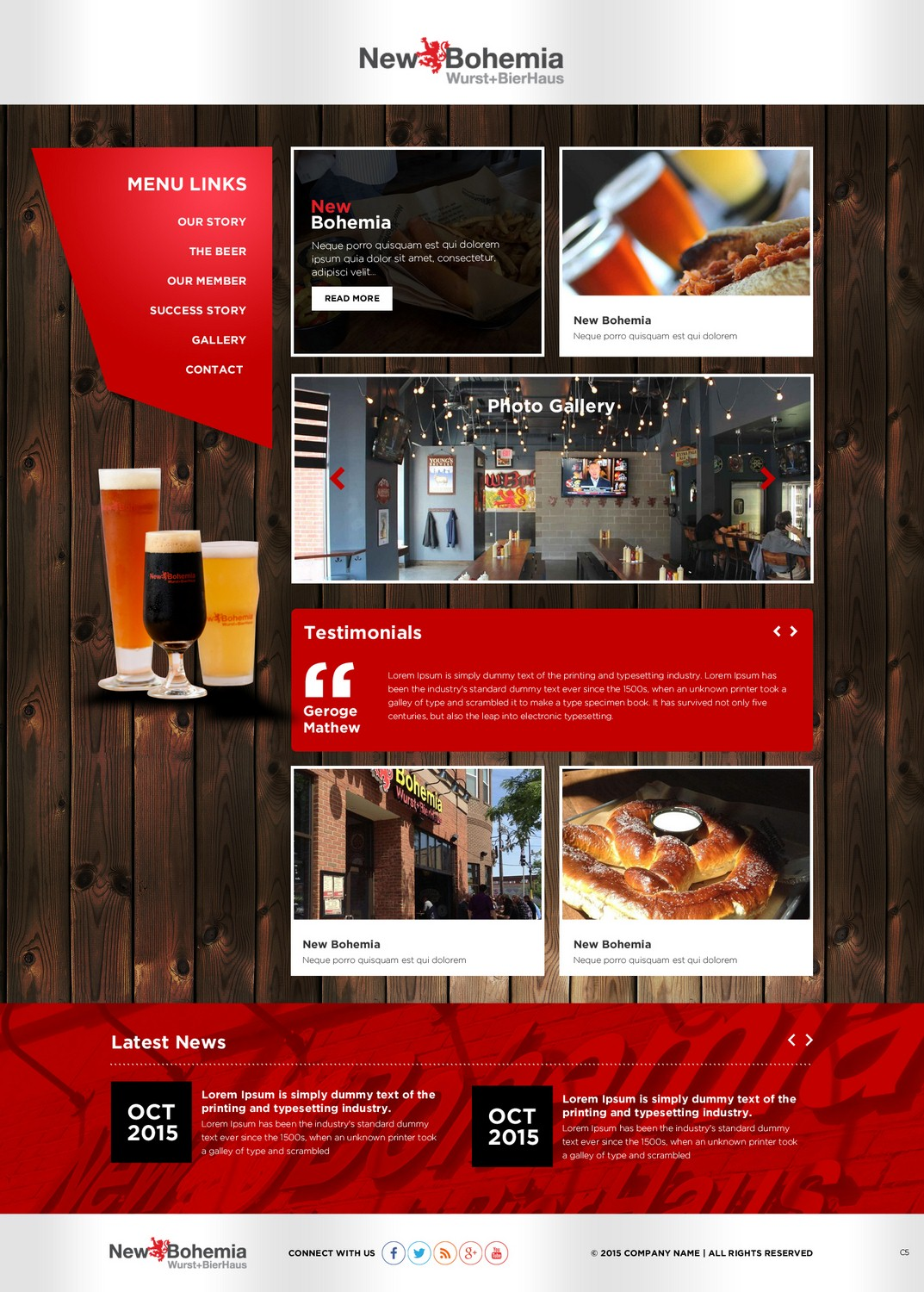 Colorful upmarket web design for finance at echo by pb