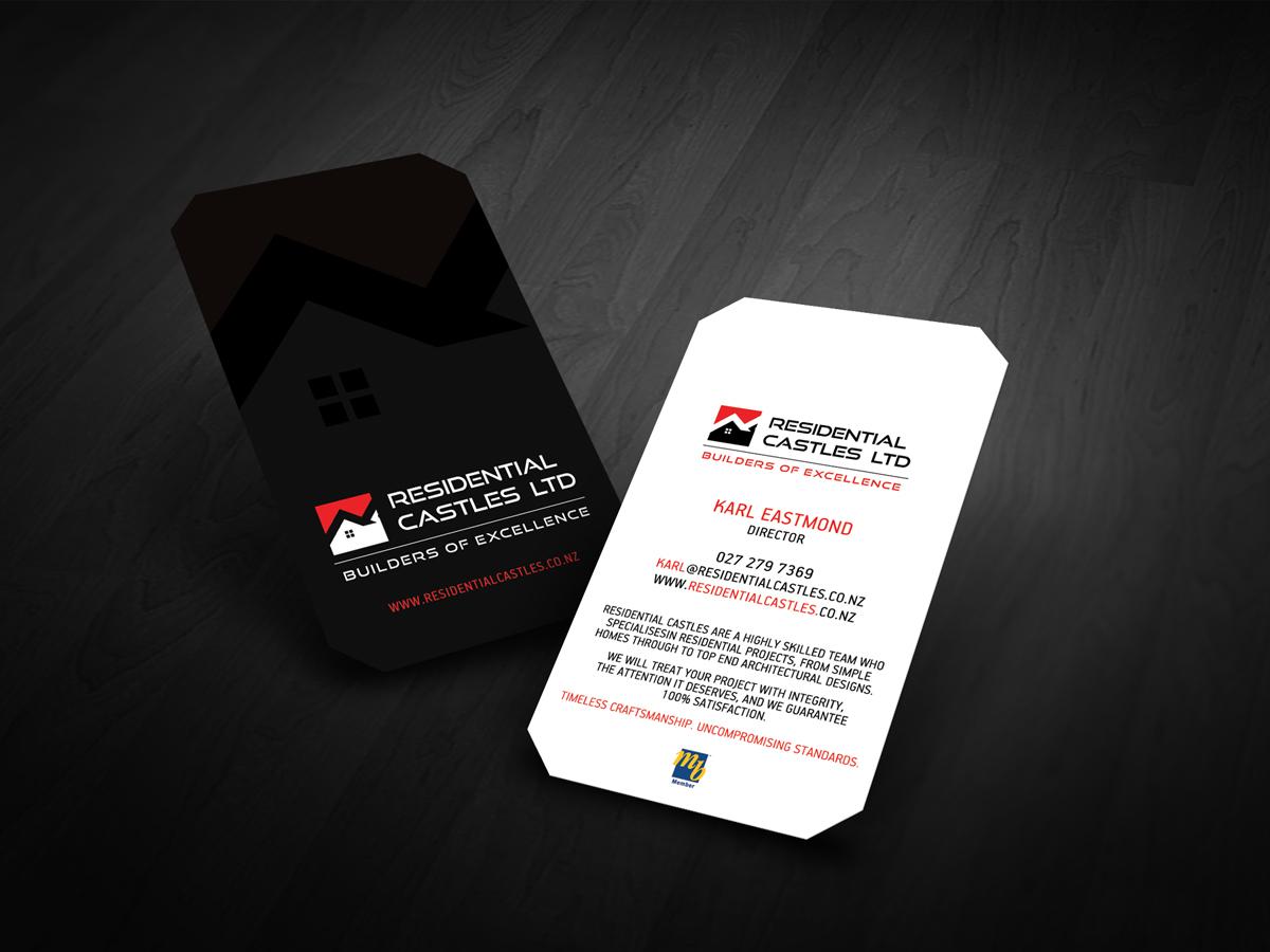 23 Bold Business Card Designs | Construction Business Card Design ...