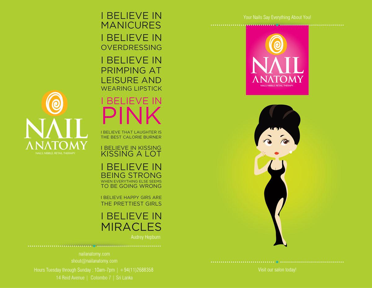 Modern, Upmarket, Salon Brochure Design for a Company by Jackie ...