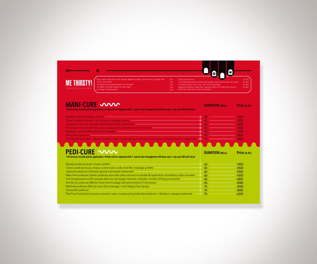 Modern, Upmarket, Salon Brochure Design for a Company by Fanni ...