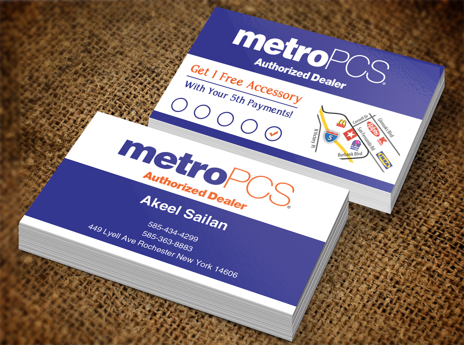 Modern, Professional, Cell Phone Business Card Design for SAILAN\'S ...