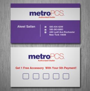 30 modern business card designs cell phone business card design business card design by nilu for sailans llc design 7678742 reheart Gallery