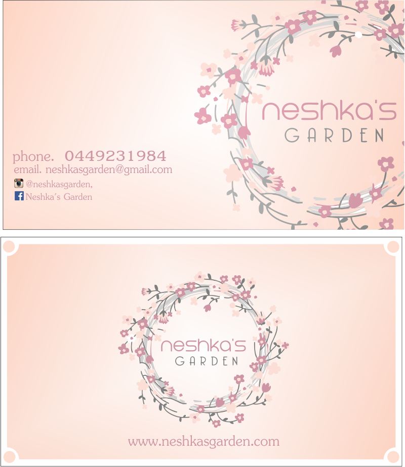 Elegant, Playful, Florist Business Card Design for a Company by ...