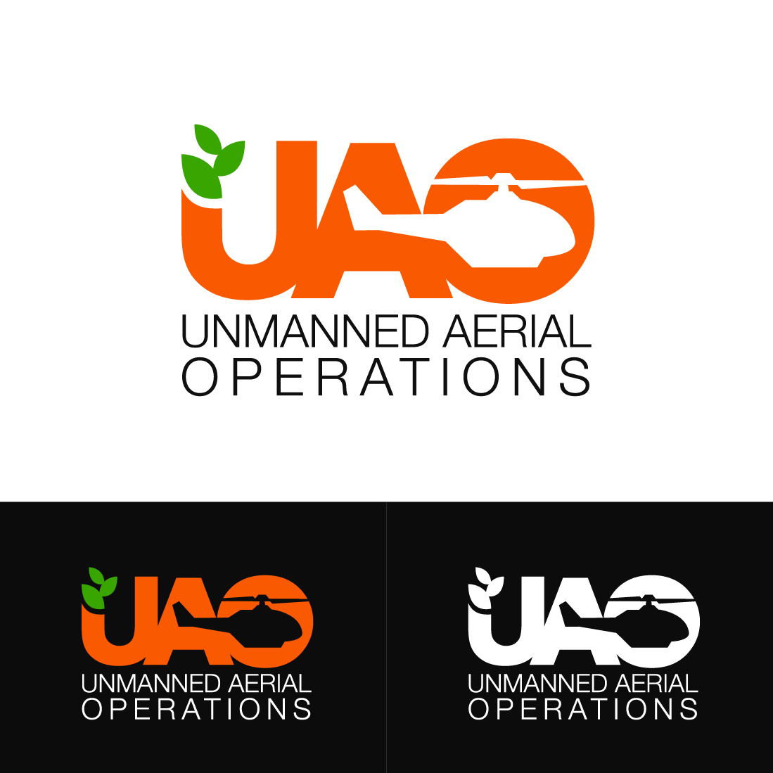 Serious, Modern, Agriculture Logo Design For Unmanned