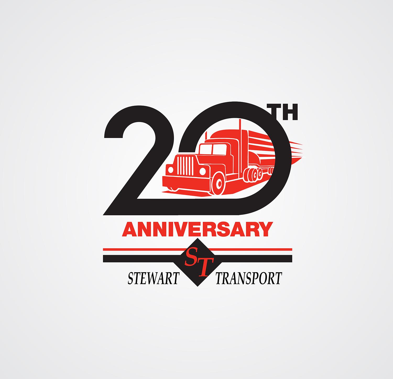 masculine professional logo design for stewart transport inc by chirond design 7769800