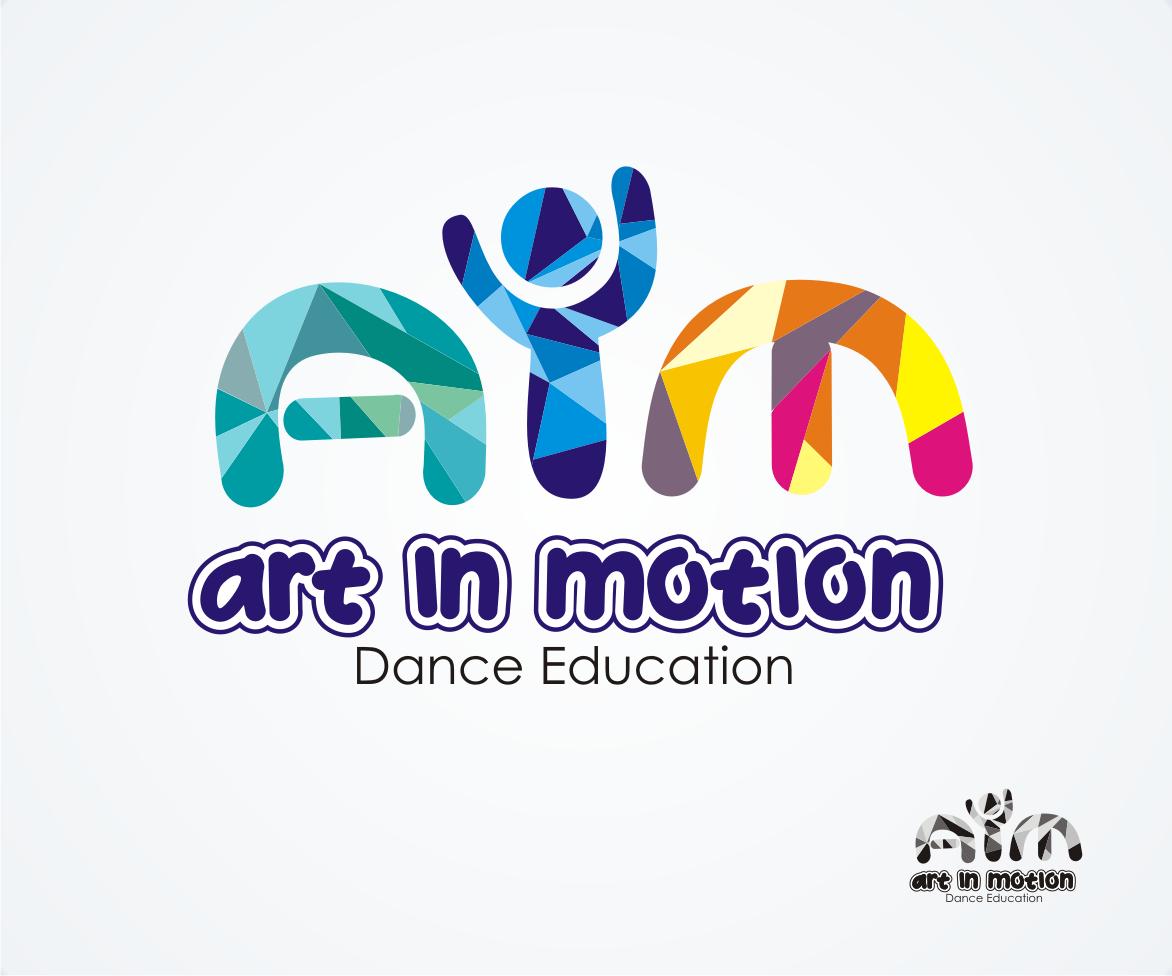 Art In Motion Logo Design