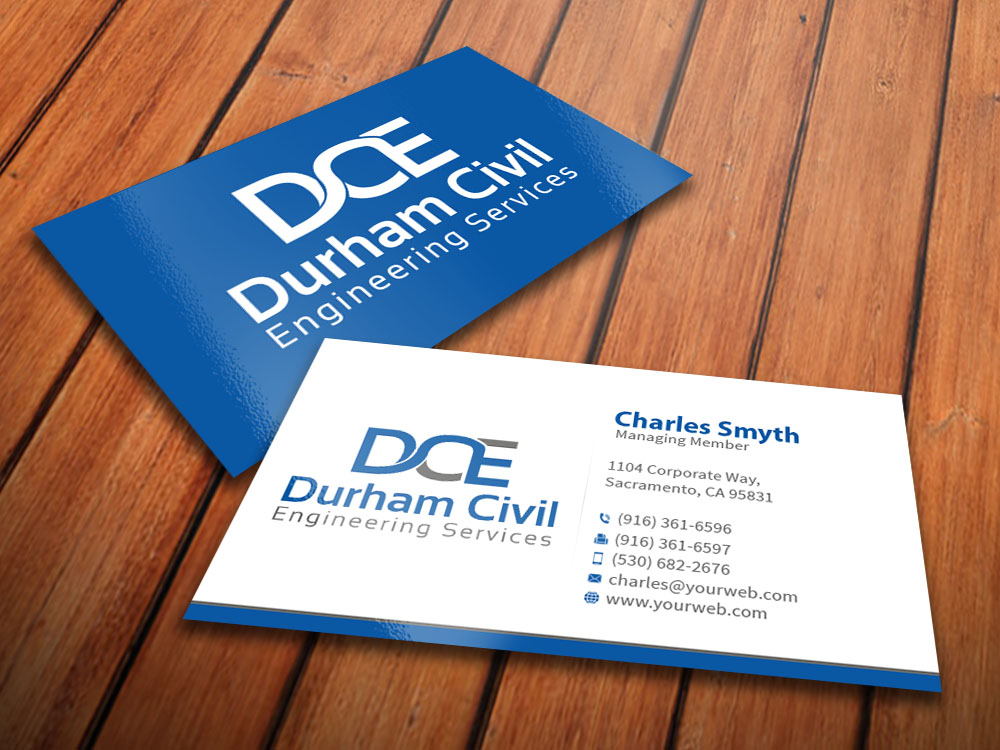 63 Professional Business Card Designs | Construction Business Card ...