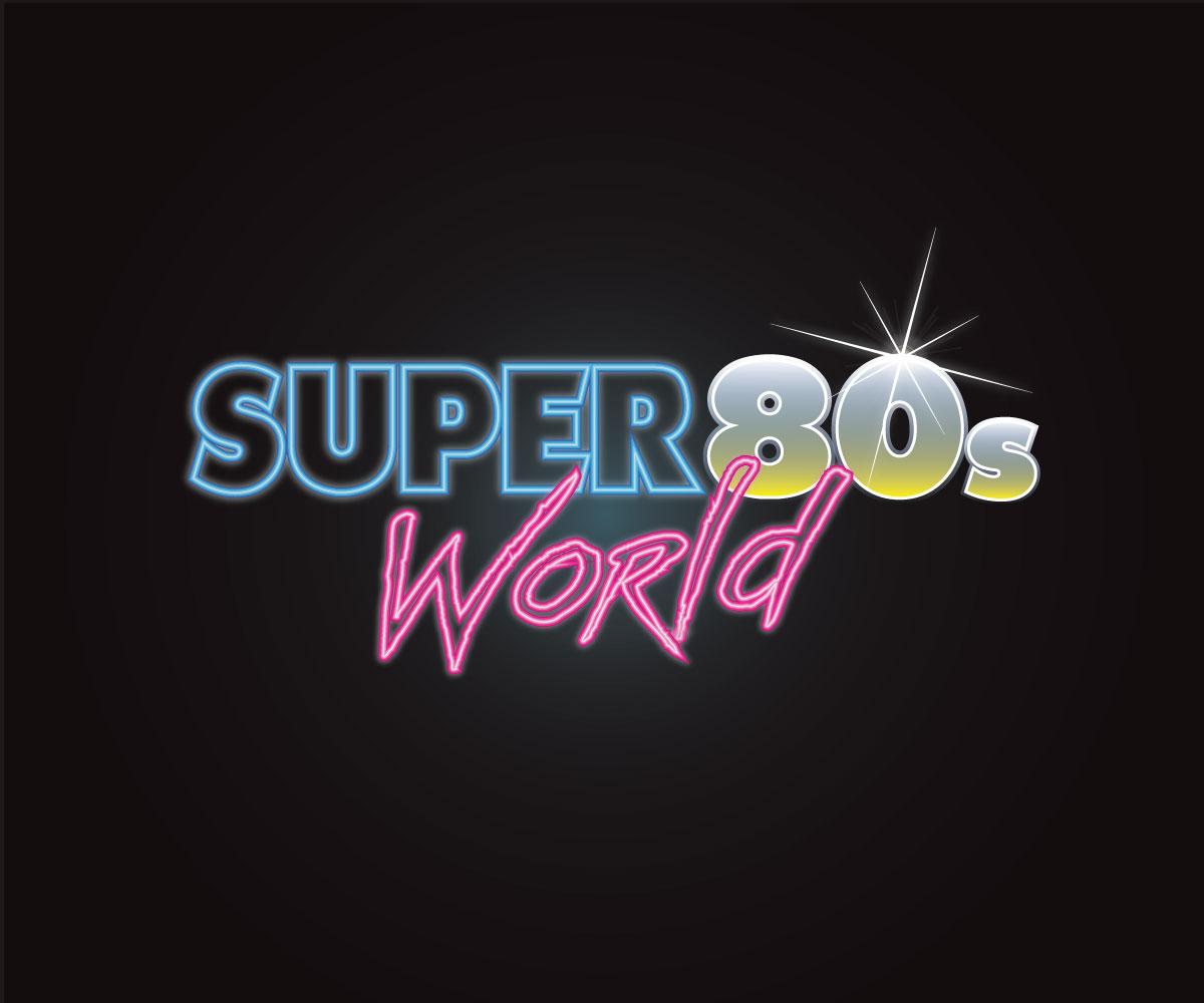 bold modern games logo design for super 80s world by