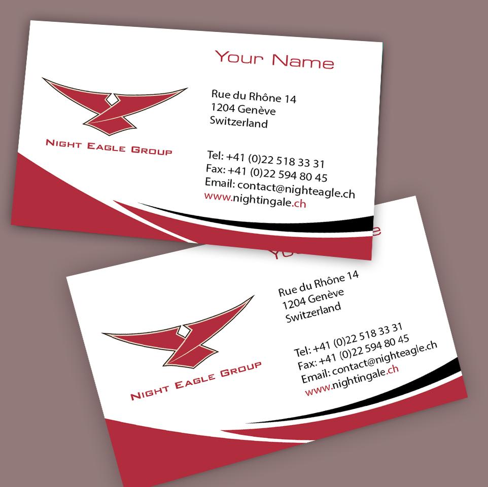 Playful, Feminine, Business Business Card Design for Night Eagle ...