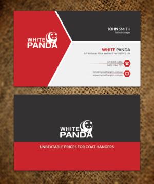 30 elegant business card designs business business card design business card design by sandaruwan for white panda pty ltd design 7719742 reheart Gallery