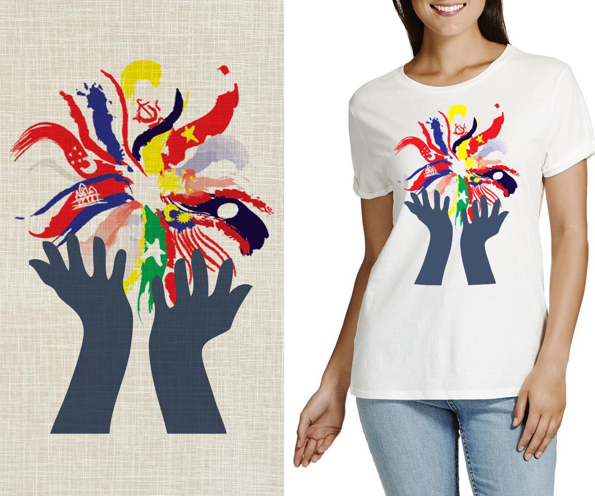 Shirt design malaysia - Modern Personable T Shirt Design For Company In Malaysia Design 7799015