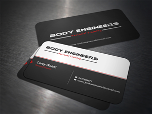 28 Professional Bold Personal Trainer Business Card Designs for a ...