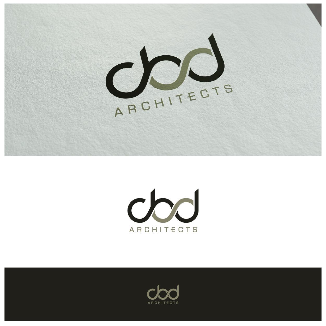 serious modern architecture logo design for cbd
