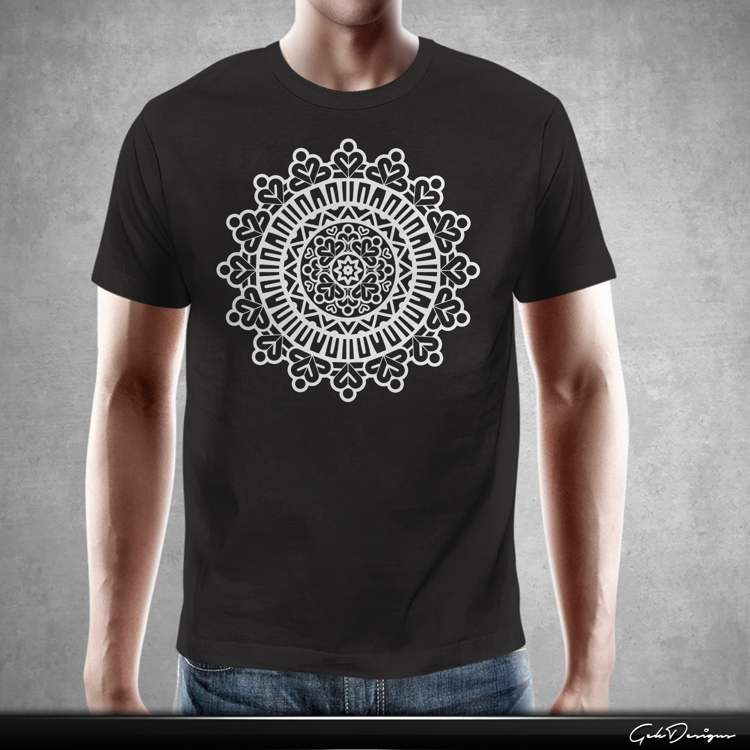 Playful modern t shirt design for 2be1 yoga by gek for Modern t shirt designs