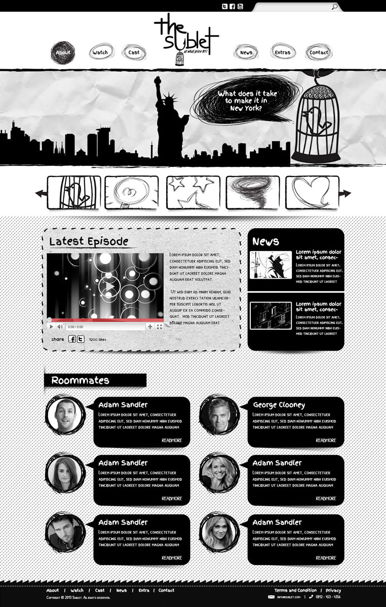 Greyscale In Design 20 Inspirational Black And White Designs
