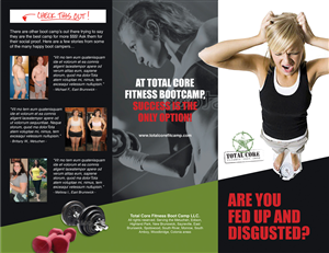 10 Bold Modern Fitness Brochure Designs for a Fitness business in ...