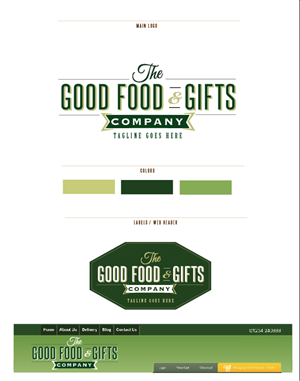 Logo Design by heatherccc - The Good Food & Gift Company Ltd - LOGO