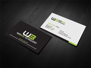 Business Card Design by diRtY.EMM - WebBore Business Card Design Project