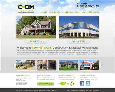 Custom Made Solar Website Design 395260
