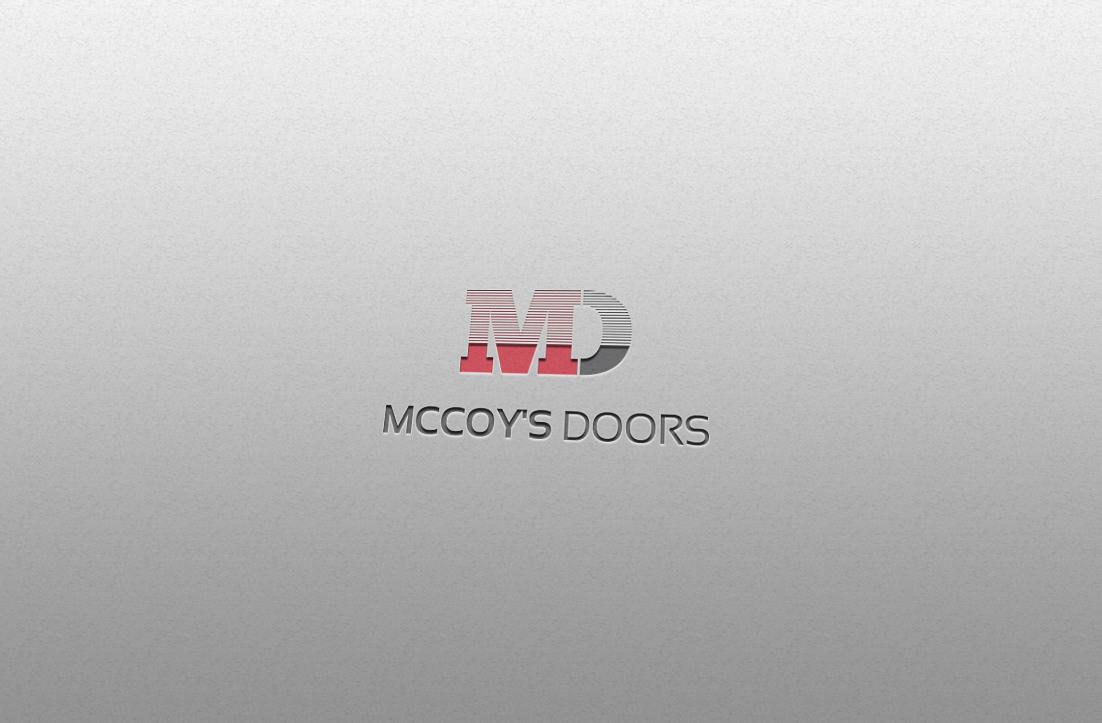 Serio moderno garage dise o de logo for mccoy 39 s doors by for Design moderno garage indipendente