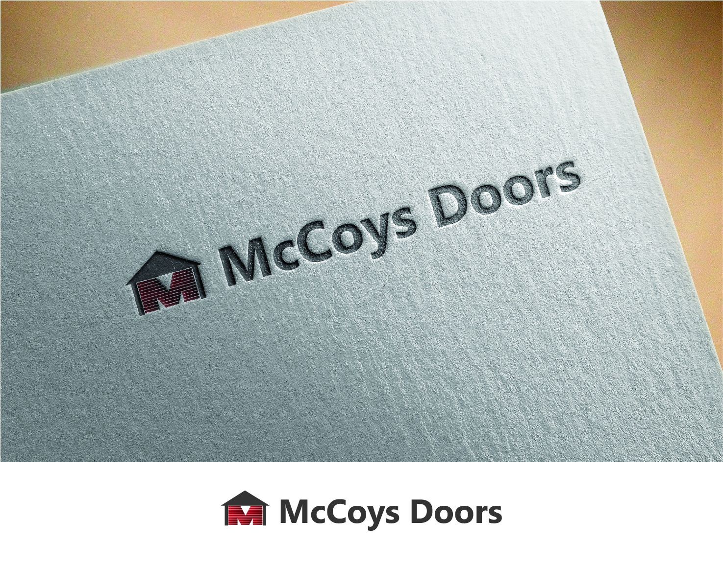 Logo Design by Fox In The Snow Design for Beans Direct | Design #8526114  sc 1 st  DesignCrowd & Serious Modern Garage Logo Design for McCoyu0027s Doors by Fox In The ...