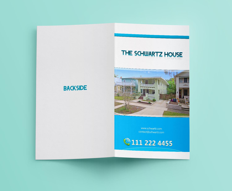 Upmarket Property Development Brochures : Upmarket bold real estate brochure design for third and